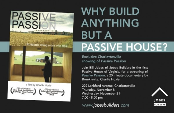 Movie Screening at Lankford Passive House